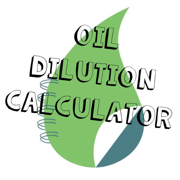 Young Living essential oil dilution calculator for adults
