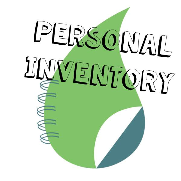 Personal inventory of Young Living essential oils and products